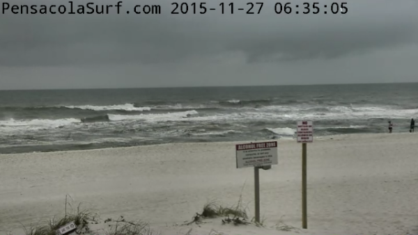Friday Sunrise Beach and Surf Report 11/27/2015