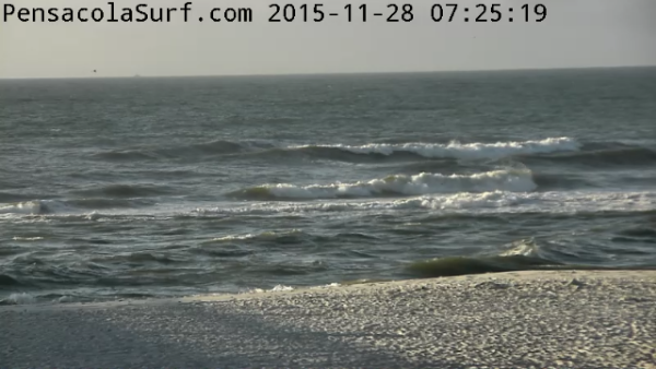 Saturday Sunrise Beach and Surf Report 11/28/2015