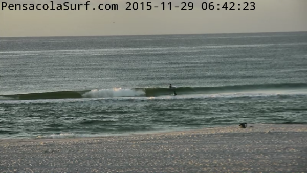 Sunday Sunrise Beach and Surf Report 11/29/2015