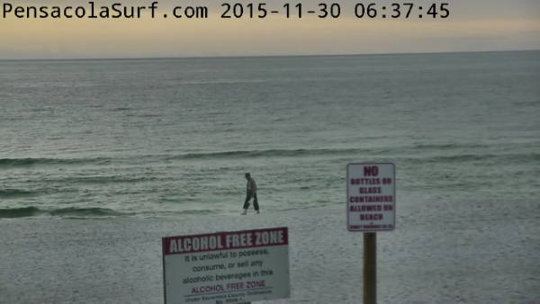 Monday Sunrise Beach and Surf Report 11/30/15