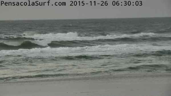 Thursday Sunrise Beach and Surf Report 11/26/2015