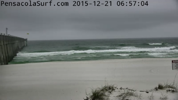 Monday Sunrise Beach and Surf Report 12/21/15