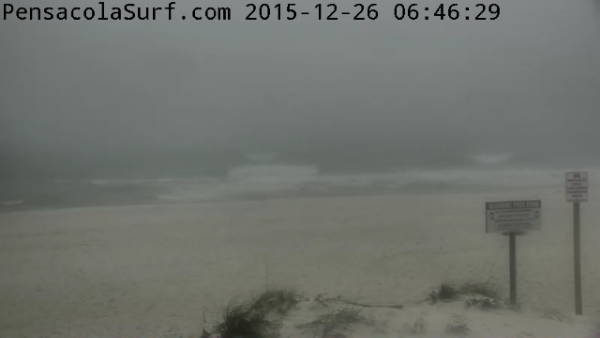 Saturday Sunrise Beach and Surf Report 12/26/15
