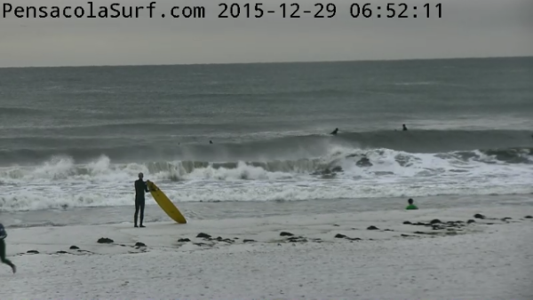 Tuesday Sunrise Beach and Surf Report 12/29/15