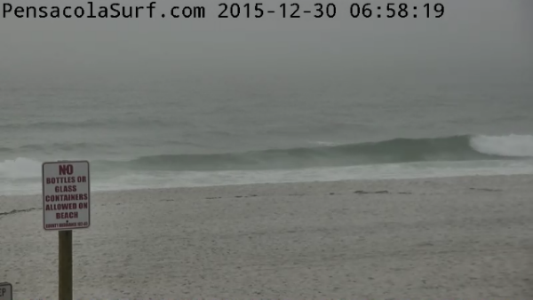Wednesday Sunrise Beach and Surf Report 12/30/15