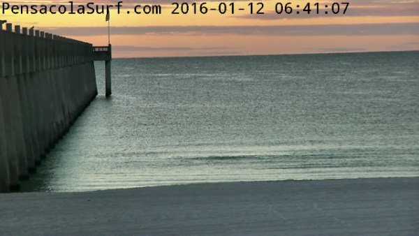 Tuesday Sunrise Beach and Surf Report 01/12/16
