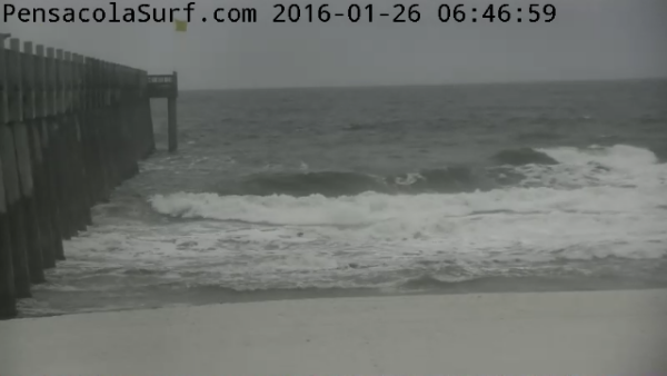 Tuesday Sunrise Beach and Surf Report 01/26/16