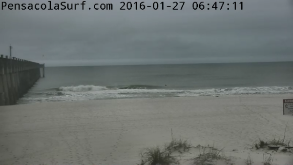 Wednesday Sunrise Beach and Surf Report 01/27/16