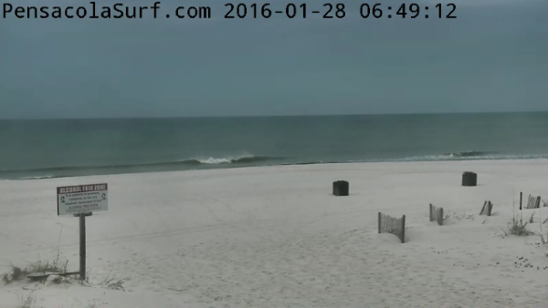 Thursday Sunrise Beach and Surf Report 01/28/16
