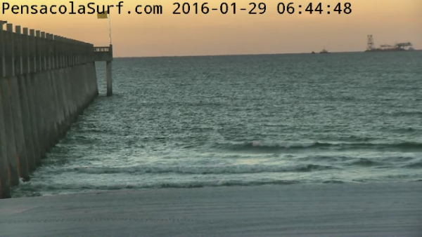Friday Sunrise Beach and Surf Report 01/29/16