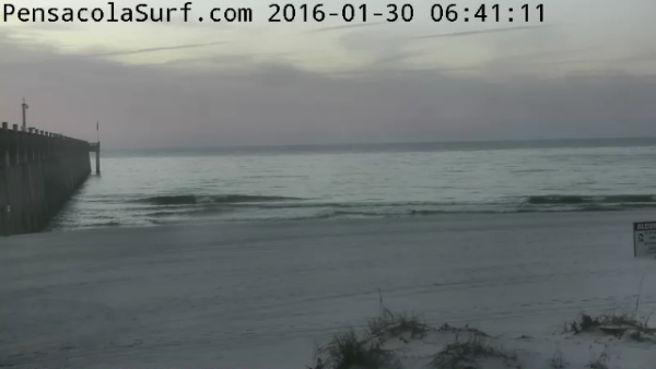 Saturday Sunrise Beach and Surf Report 01/30/2016