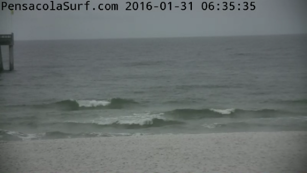 Sunday Sunrise Beach and Surf Report 01/31/2016