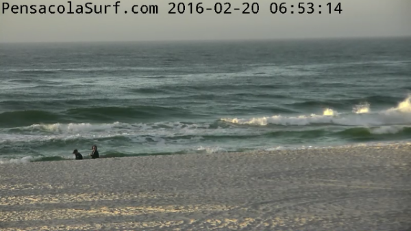 Saturday Sunrise Beach and Surf Report 02/20/2016