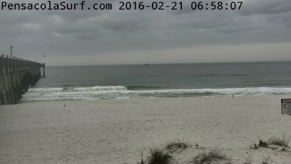 Sunday Sunrise Beach and Surf Report 02/21/16