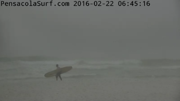 Monday Sunrise Beach and Surf Report 02/22/16