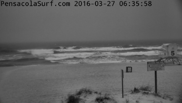 Sunday Sunrise Beach and Surf Report 03/28/2016
