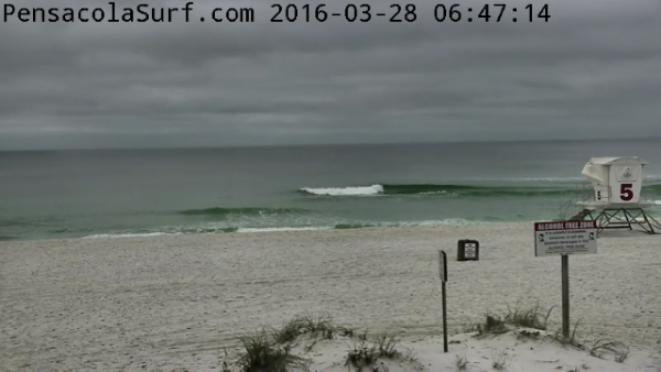 Monday Sunrise Beach and Surf Report 03/28/16