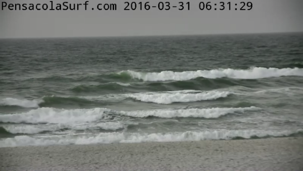 Thursday Sunrise Beach and Surf Report 03/31/16