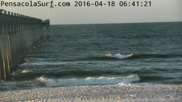 Monday Sunrise Beach and Surf Report 04/18/16