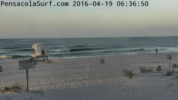 Tuesday Sunrise Beach and Surf Report 04/19/16