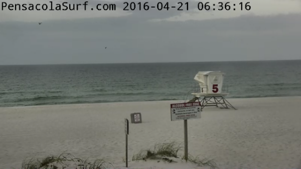 Thursday Sunrise Beach and Surf Report 04/21/16