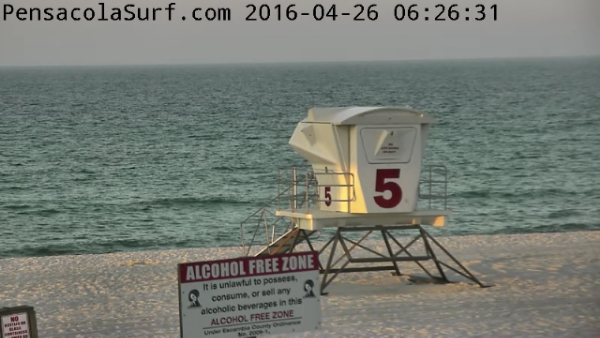 Tuesday Sunrise Beach and Surf Report 04/26/16
