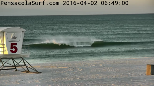 Saturday Sunrise Beach and Surf Report 04/02/2016