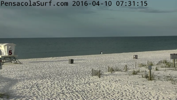 Sunday Sunrise Beach and Surf Report 04/10/2016