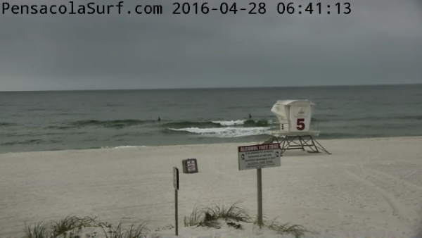 Thursday Sunrise Beach and Surf Report 04/28/2016