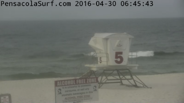 Saturday Sunrise Beach and Surf Report 04/30/2016