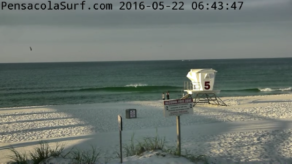 Sunday Sunrise Beach and Surf Report 05/22/2016