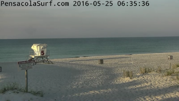 Wednesday Sunrise Beach and Surf Report 05/25/2016