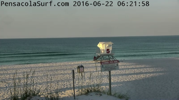 Wednesday Sunrise Beach and Surf Report 06/22/16