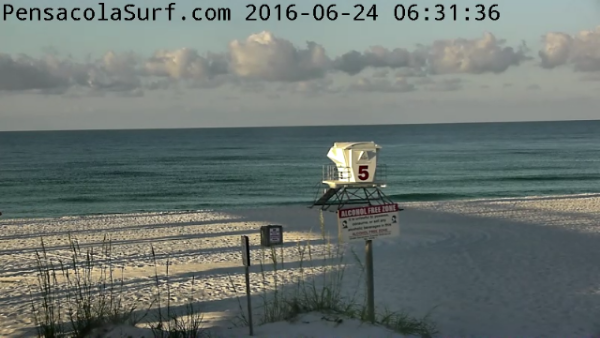 Friday Sunrise Beach and Surf Report 06/24/16