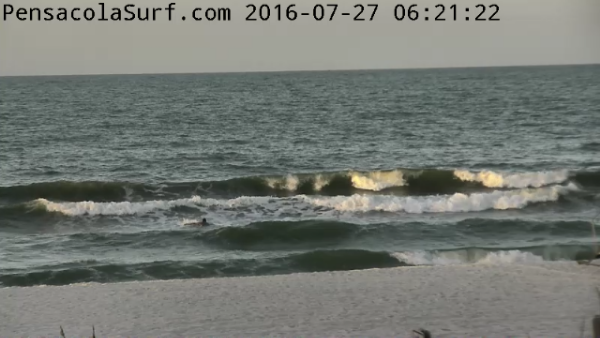 Wednesday Sunrise Beach and Surf Report 07/27/16
