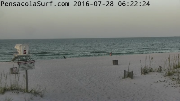 Thursday Sunrise Beach and Surf Report 07/28/16