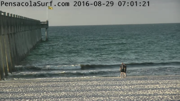 Monday Sunrise Beach and Surf Report 08/29/16