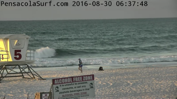 Tuesday Sunrise Beach and Surf Report 08/30/16