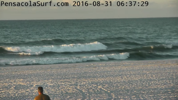 Wednesday Sunrise Beach and Surf Report 08/31/16