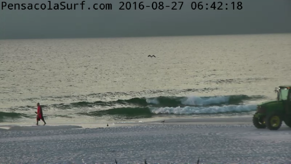 Saturday Sunrise Beach and Surf Report 08/27/2016