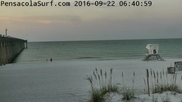 Thursday Sunrise Beach and Surf Report 09/22/2016