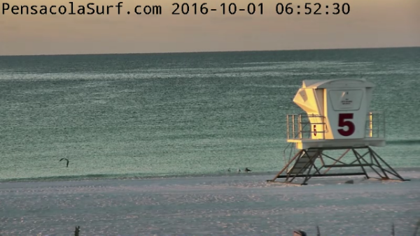 Saturday Sunrise Beach and Surf Report 10/01/16