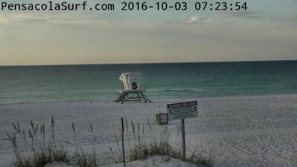 Monday Sunrise Beach and Surf Report 10/03/16