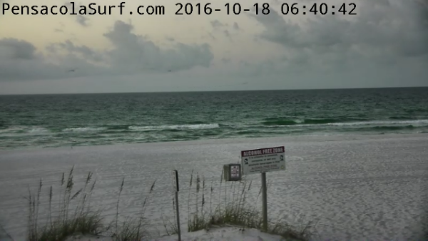 Tuesday Sunrise Beach and Surf Report 10/18/16