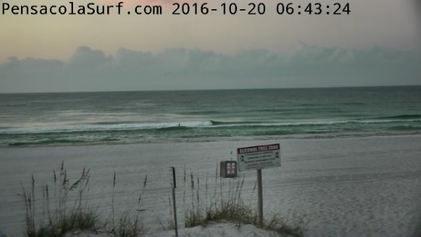 Thursday Sunrise Beach and Surf Report 10/20/16
