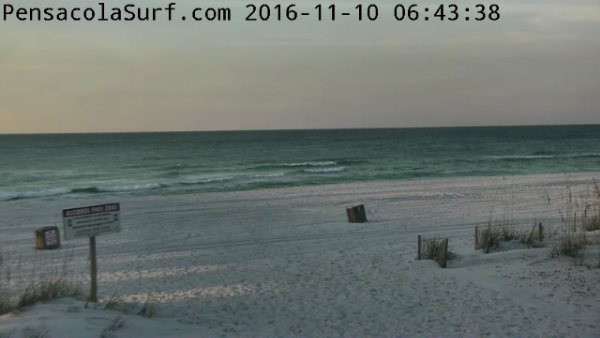 Thursday Sunrise Beach and Surf Report 11/10/16