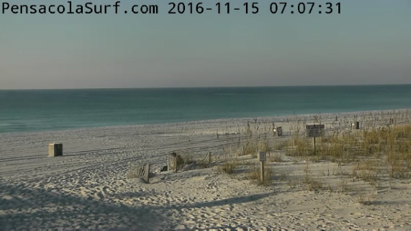 Tuesday Sunrise Beach and Surf Report 11/15/2016