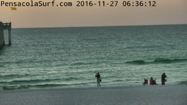 Sunday Sunrise Beach and Surf Report 11/27/2016