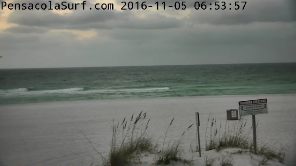 Saturday Sunrise Beach and Surf Report 11/05/2016