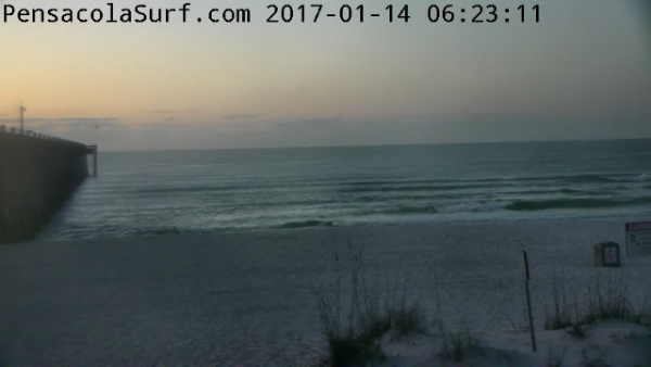 Saturday Sunrise Beach and Surf Report 01/14/17